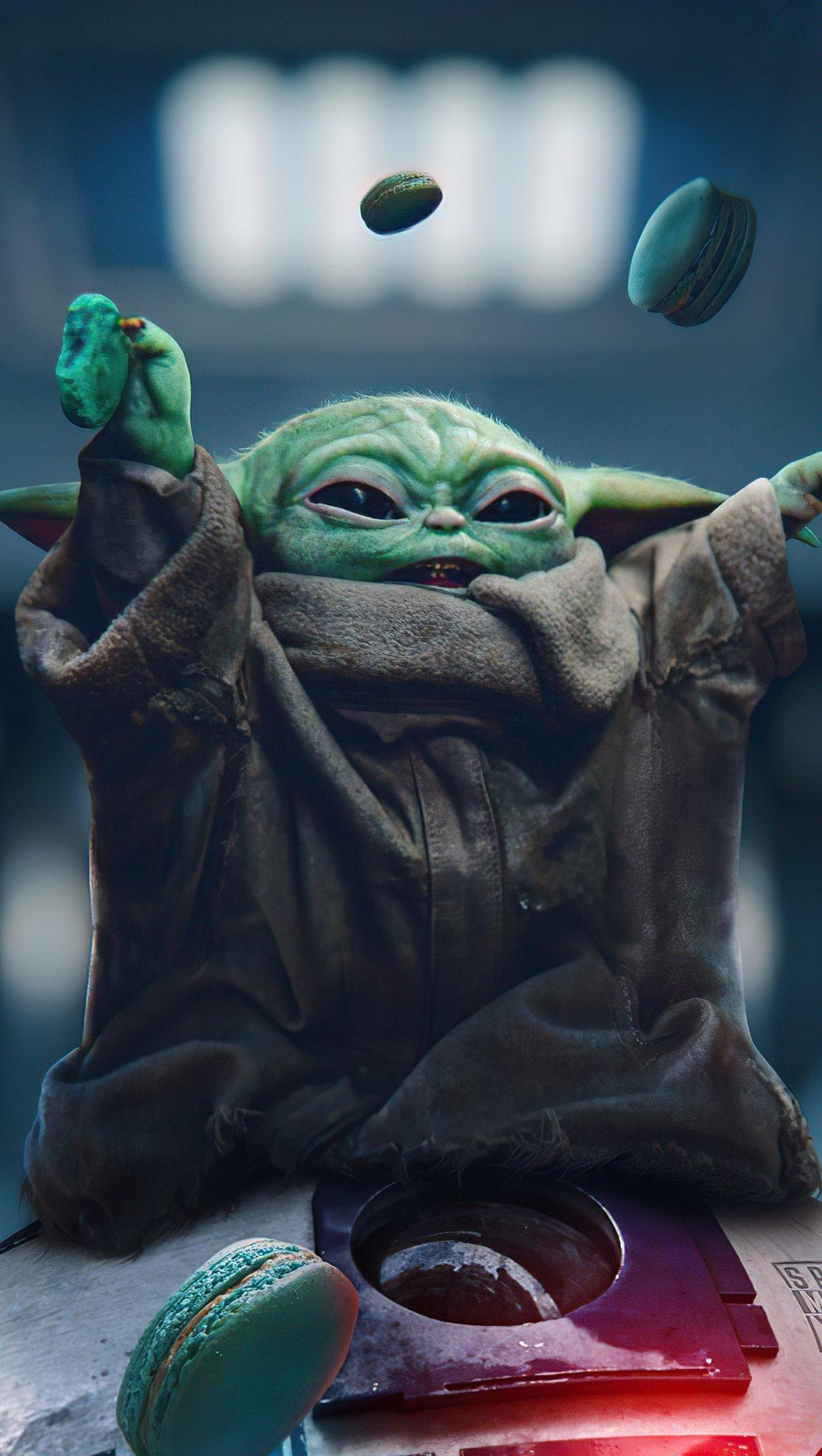 Fondos de pantalla Baby Yoda The Mandalorian Vertical