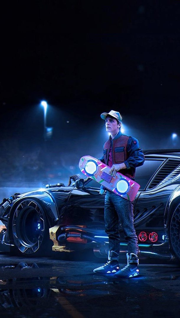 Fondos de pantalla Back To The Future Concept Vertical