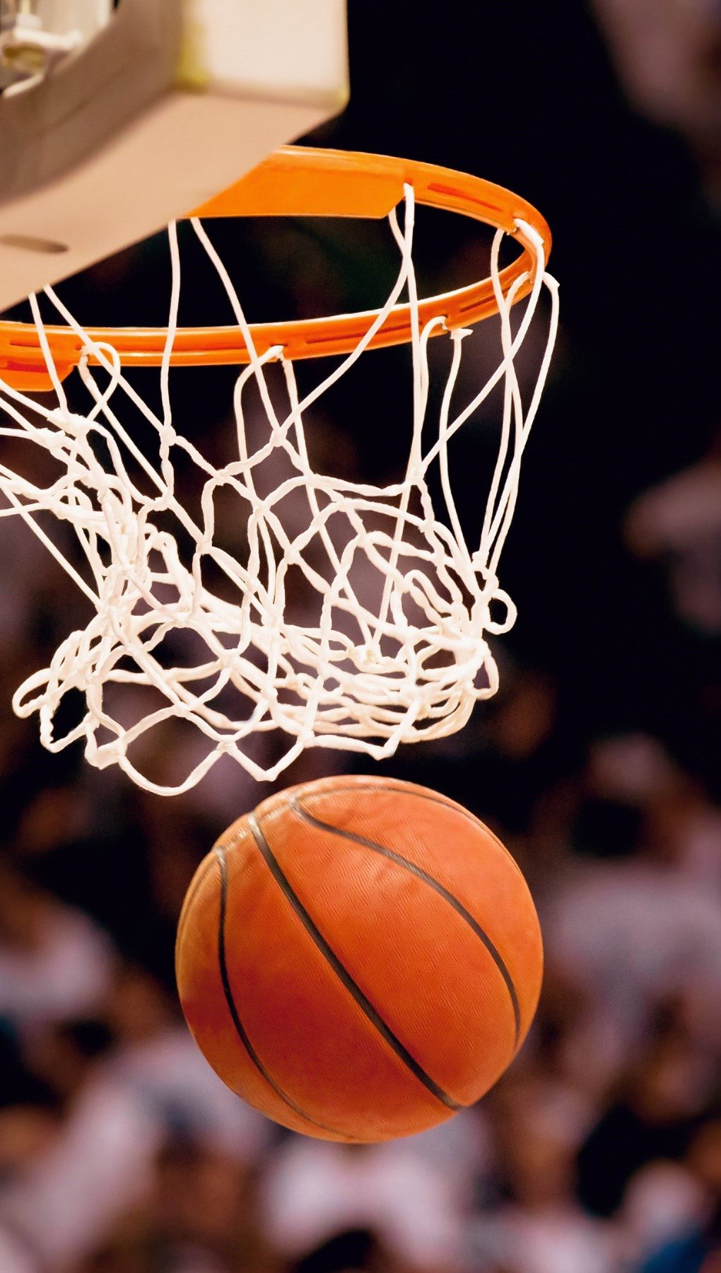 Wallpaper Basketball ball Vertical