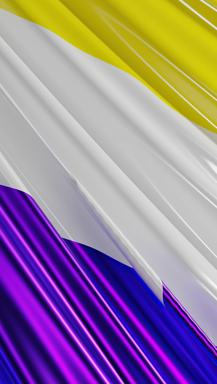 Fondos de pantalla Bandera No binaria Vertical