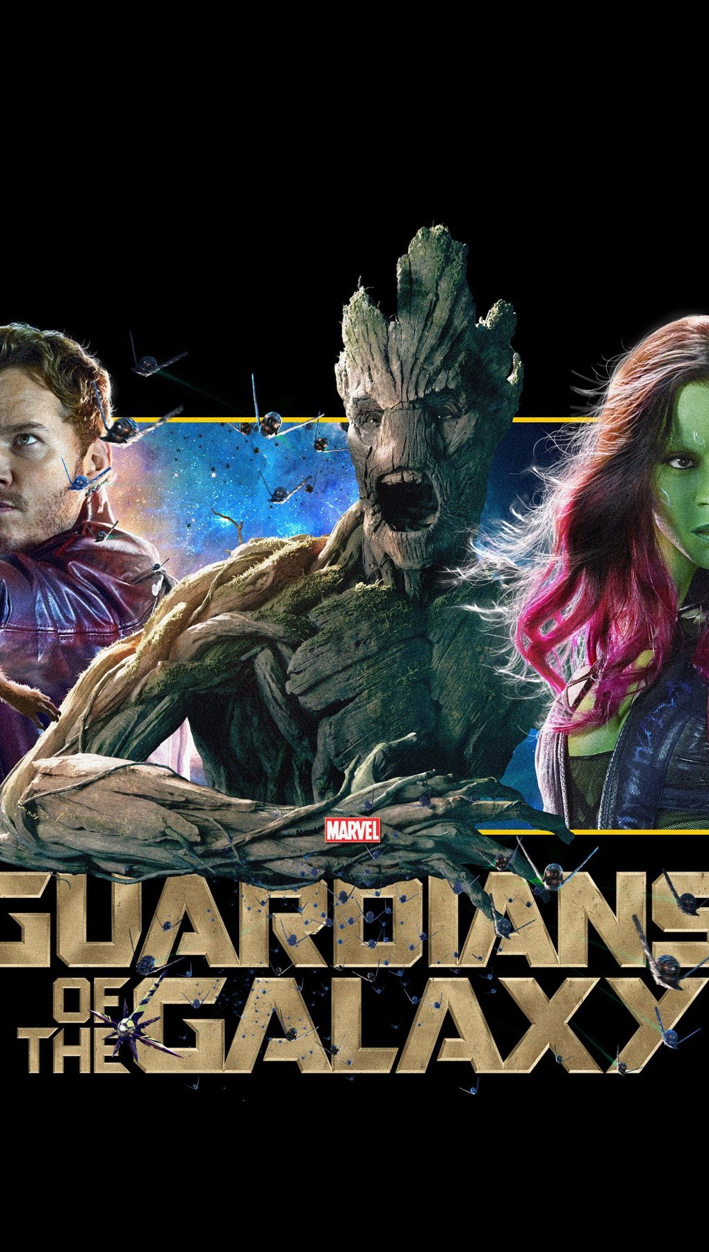 Wallpaper Banner of Guardians of the Galaxy Vertical