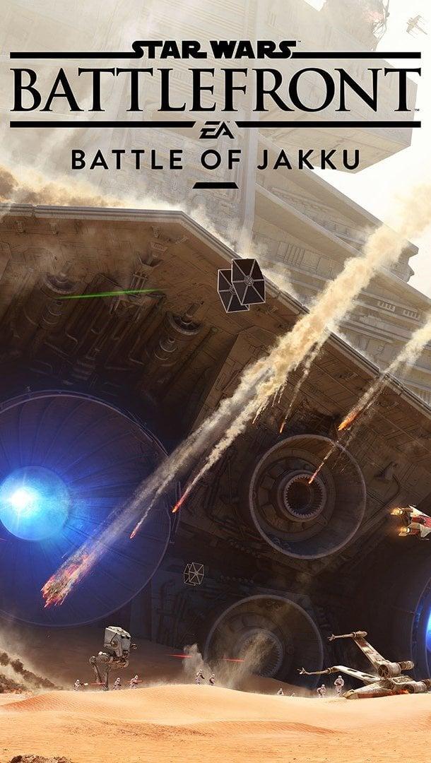 Wallpaper Battle of Jakku in Star Wars Battlefront Vertical
