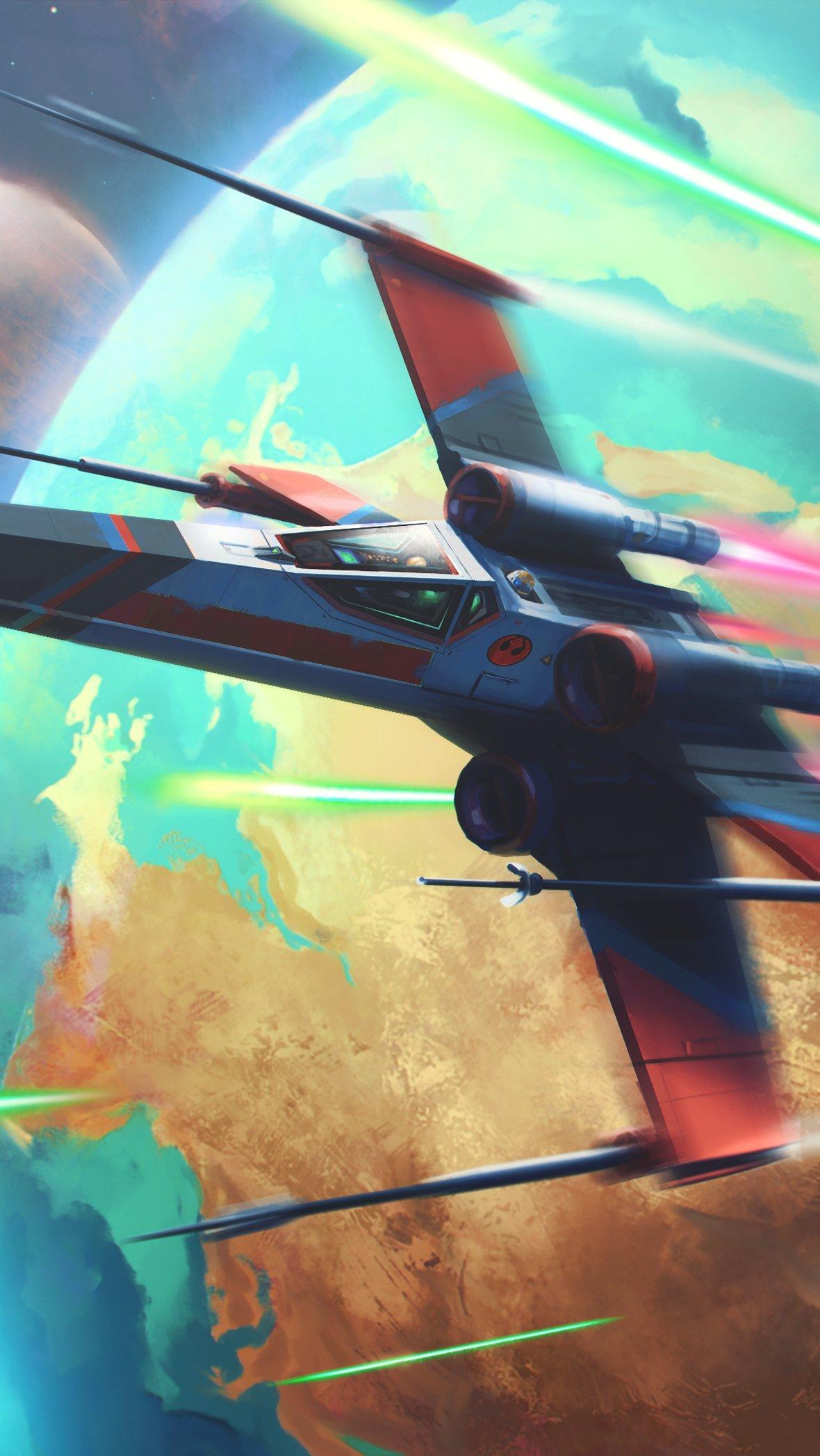 Fondos de pantalla Batalla en el espacio Vertical