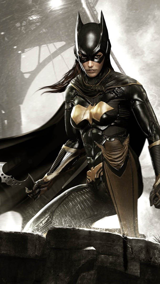 Wallpaper Batgirl in Batman Arkham Knight Vertical
