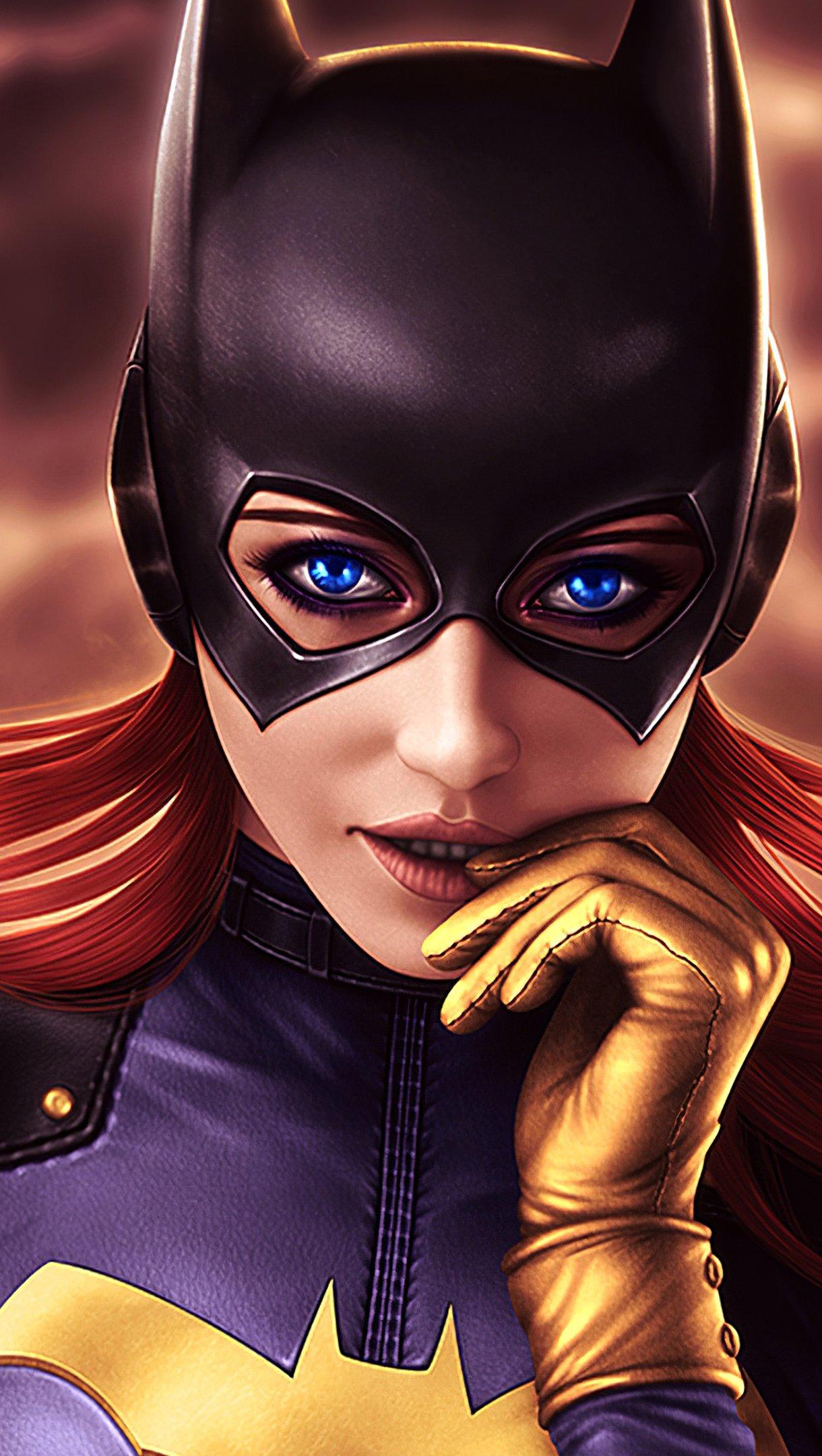 Fondos de pantalla Batgirl peliroja Vertical