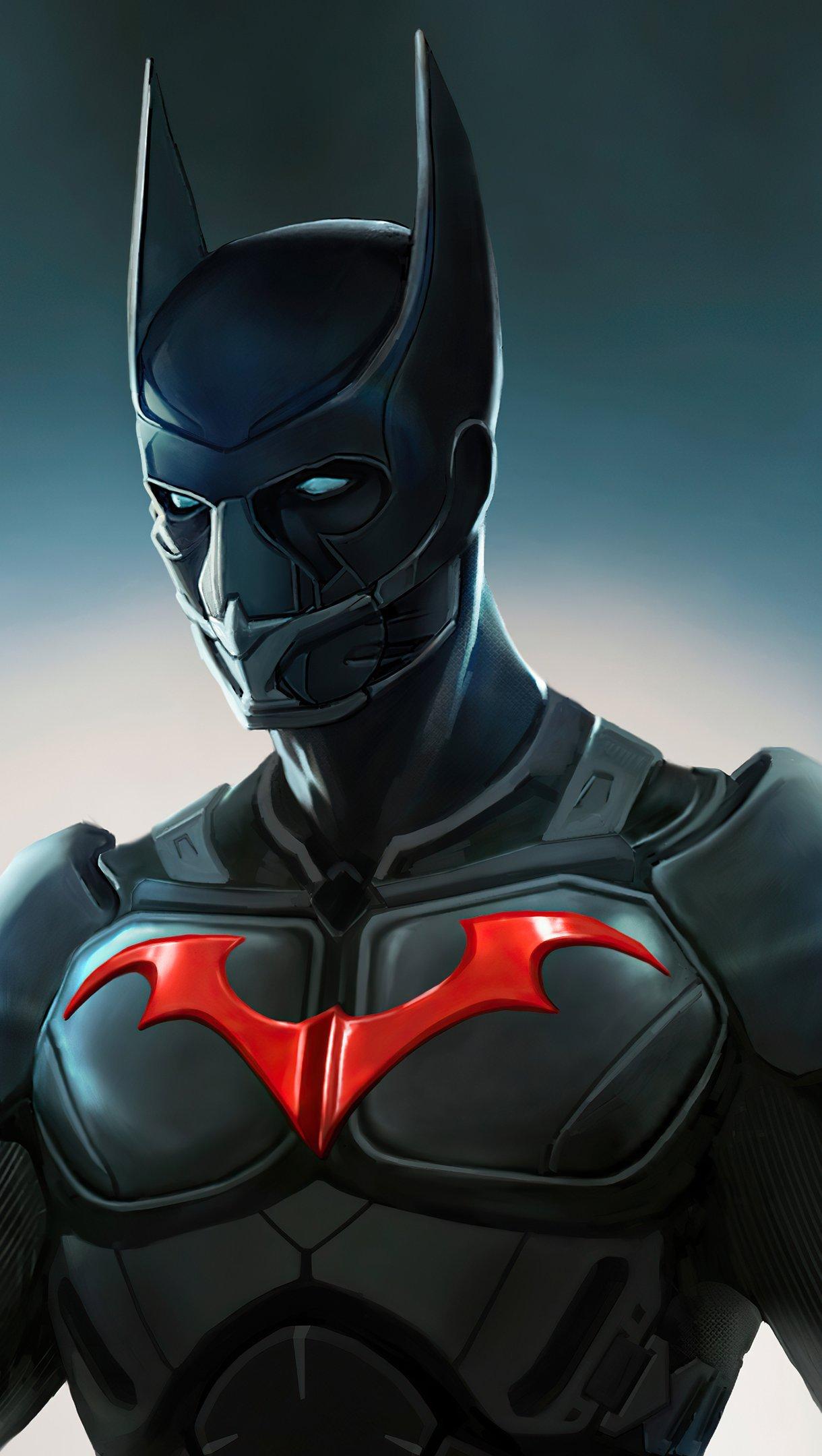 Wallpaper Batman Beyond Action Suit Vertical