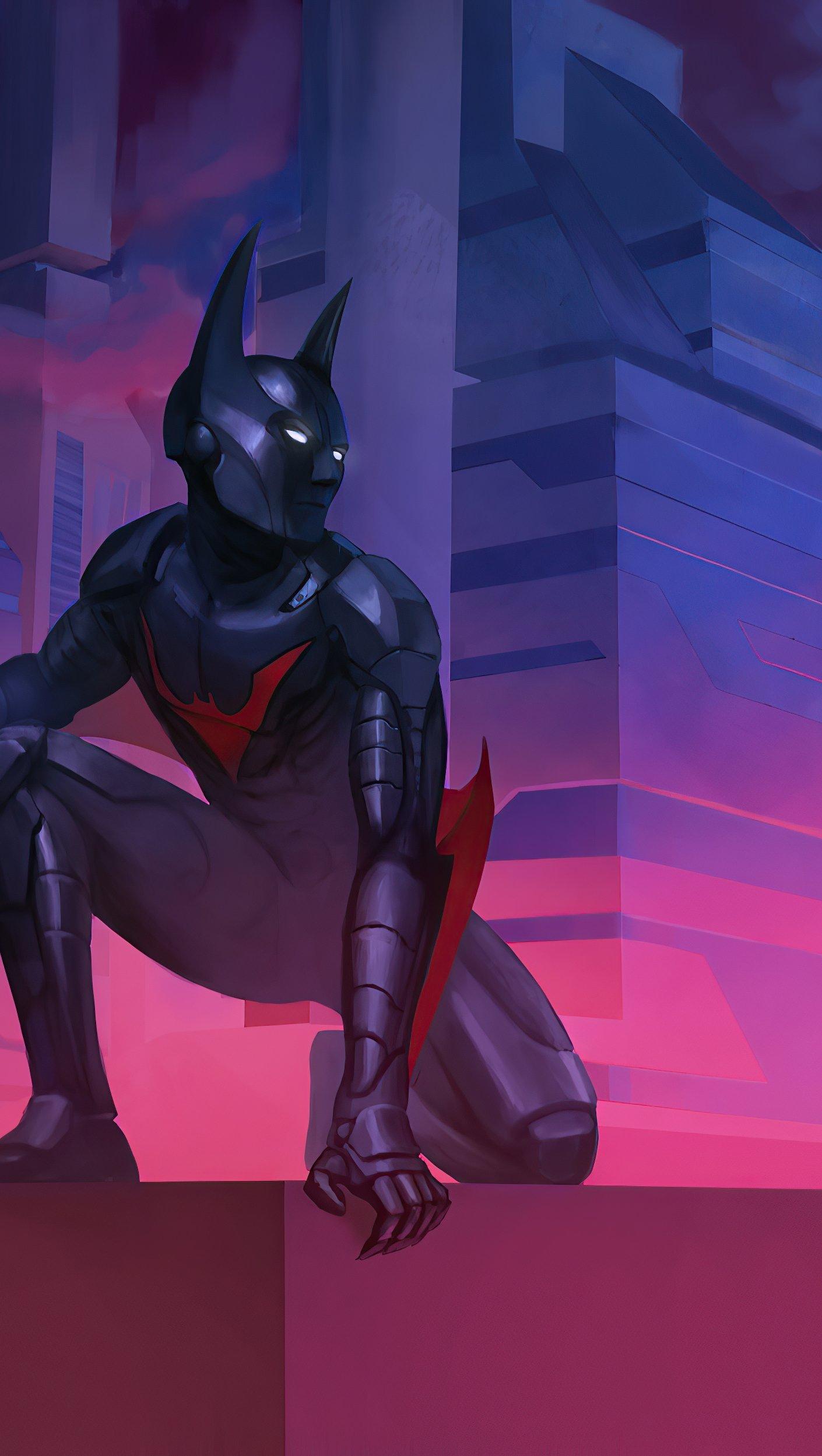 Wallpaper Batman Beyond Art 2020 Vertical
