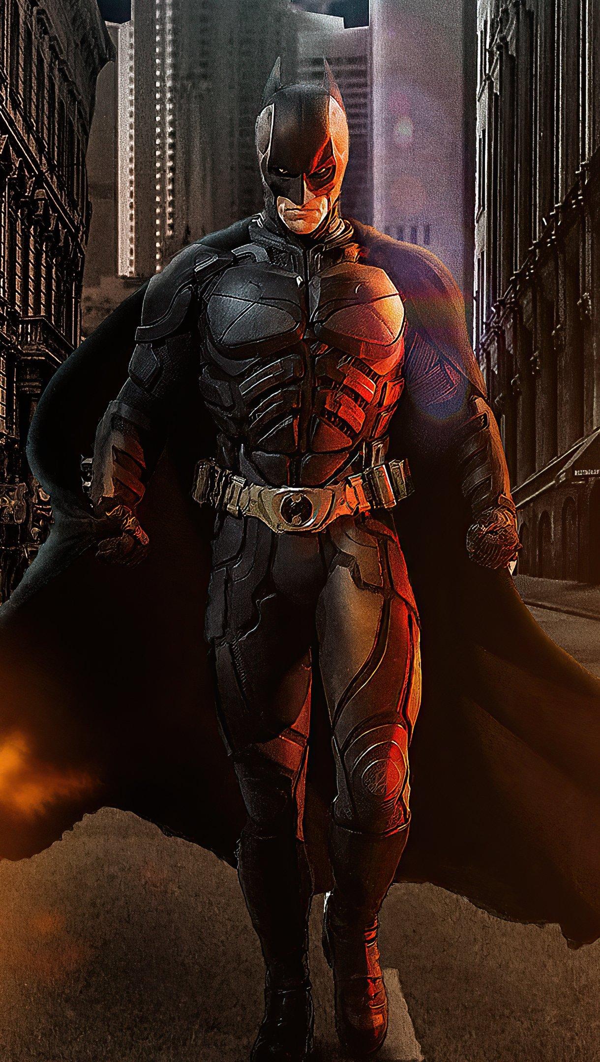 Fondos de pantalla Batman caminando Vertical