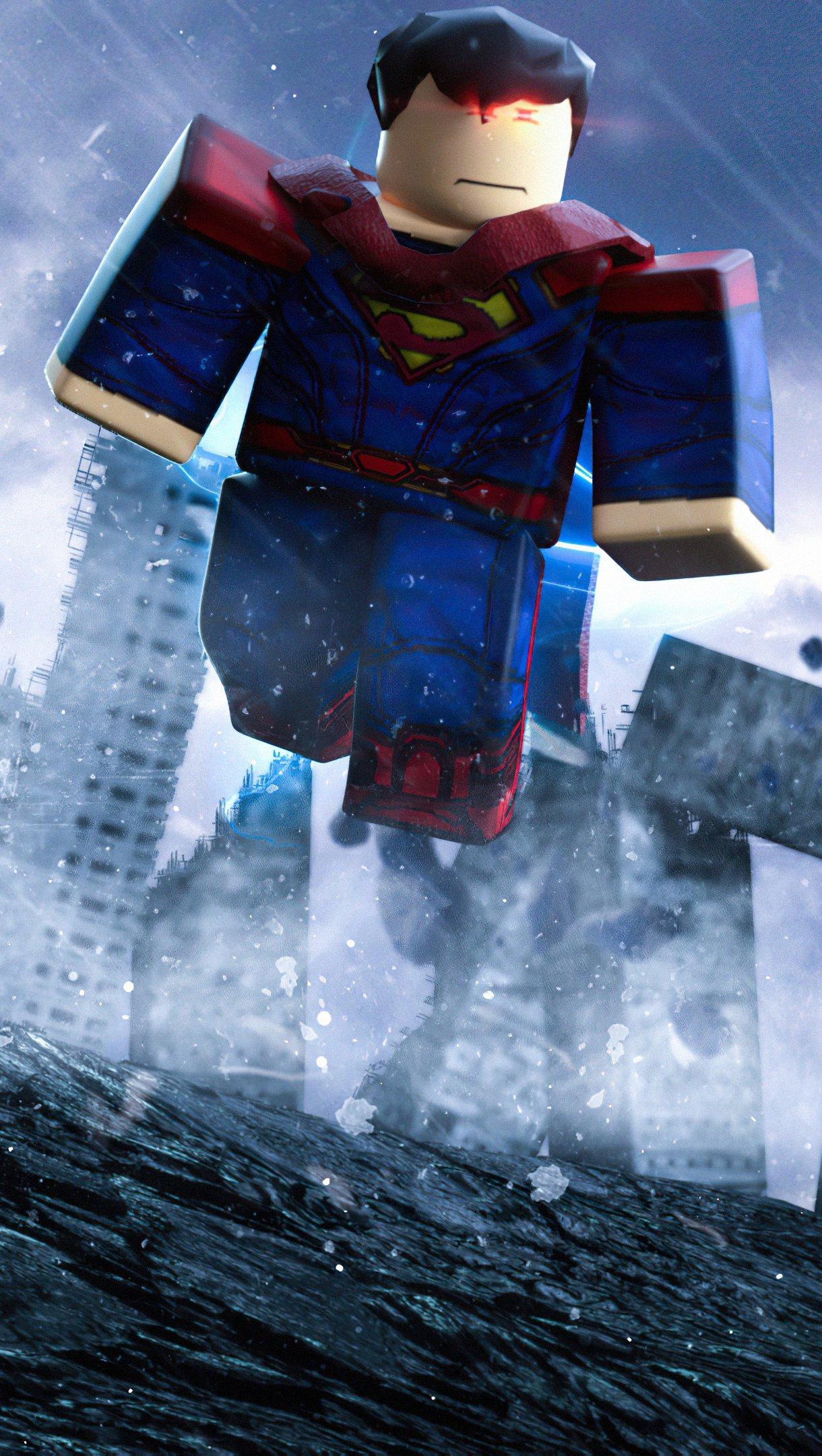 Wallpaper Batman VS Superman Lego style Vertical