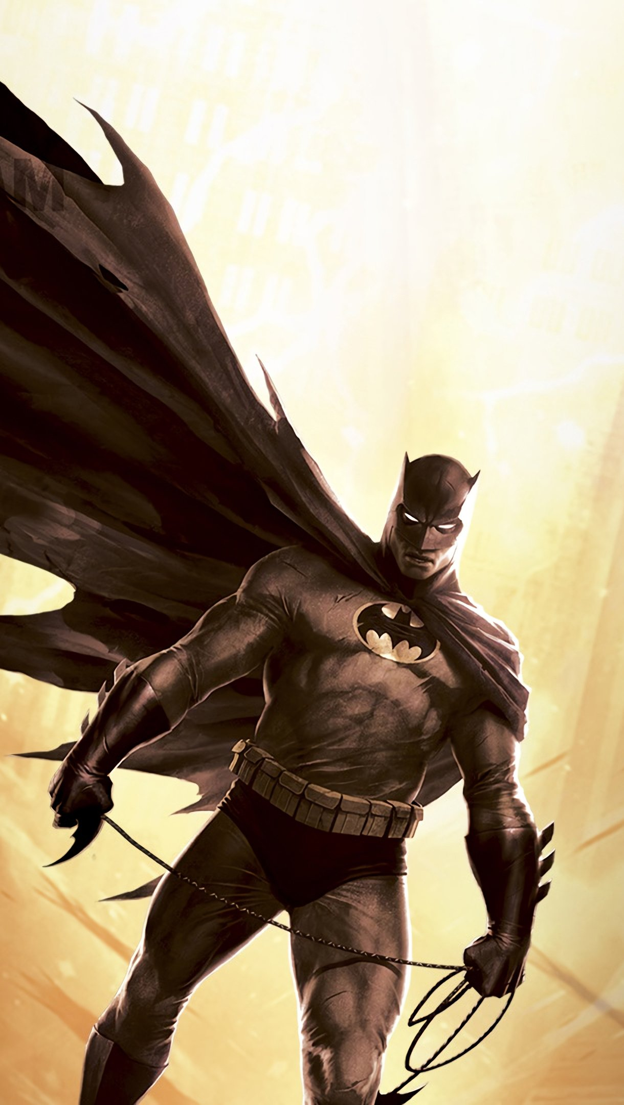 Wallpaper Batman DC comics Vertical