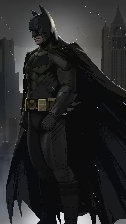 Wallpaper Batman Dreams in darkness Vertical