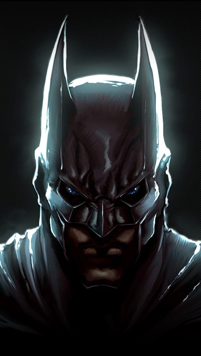 Wallpaper Batman The knight of the night Vertical