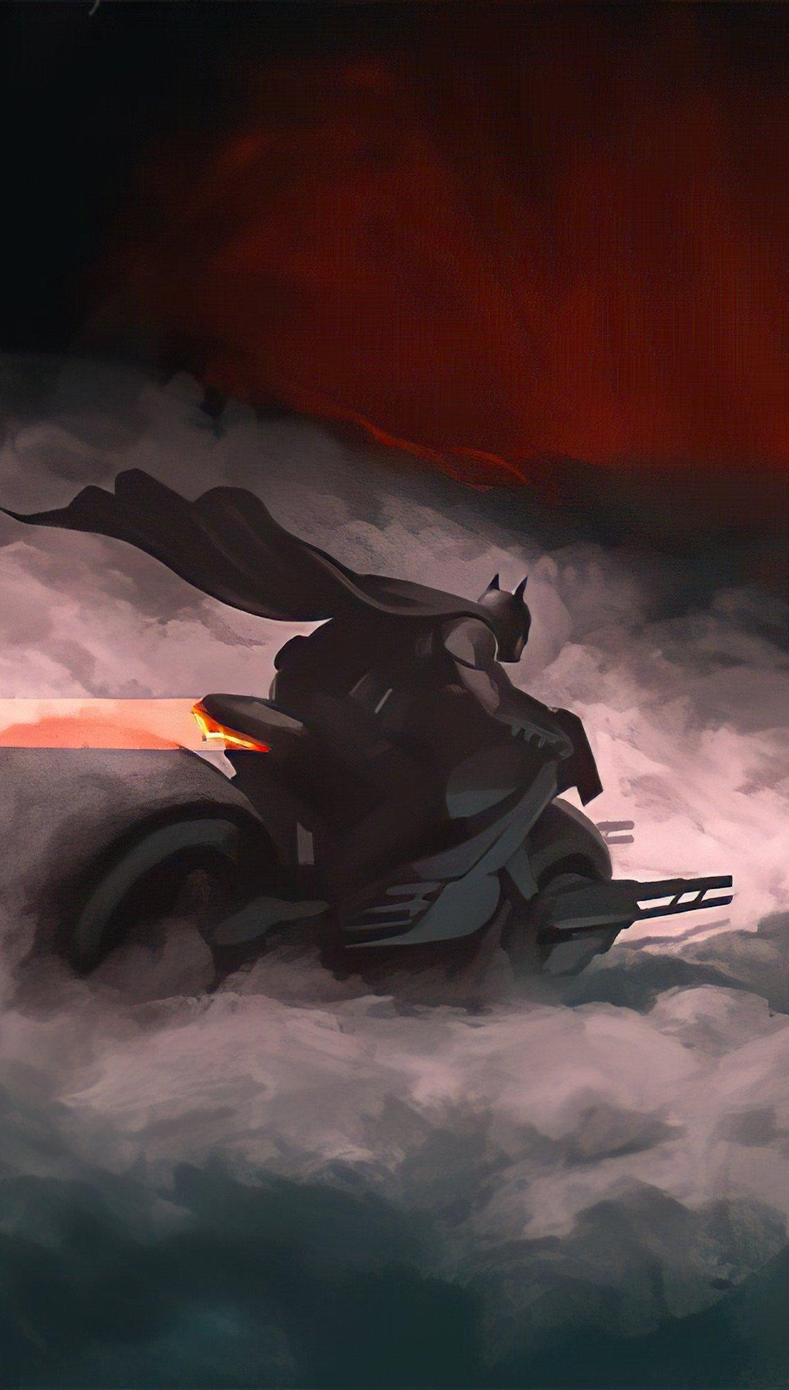 Fondos de pantalla Batman en Batimoto Vertical