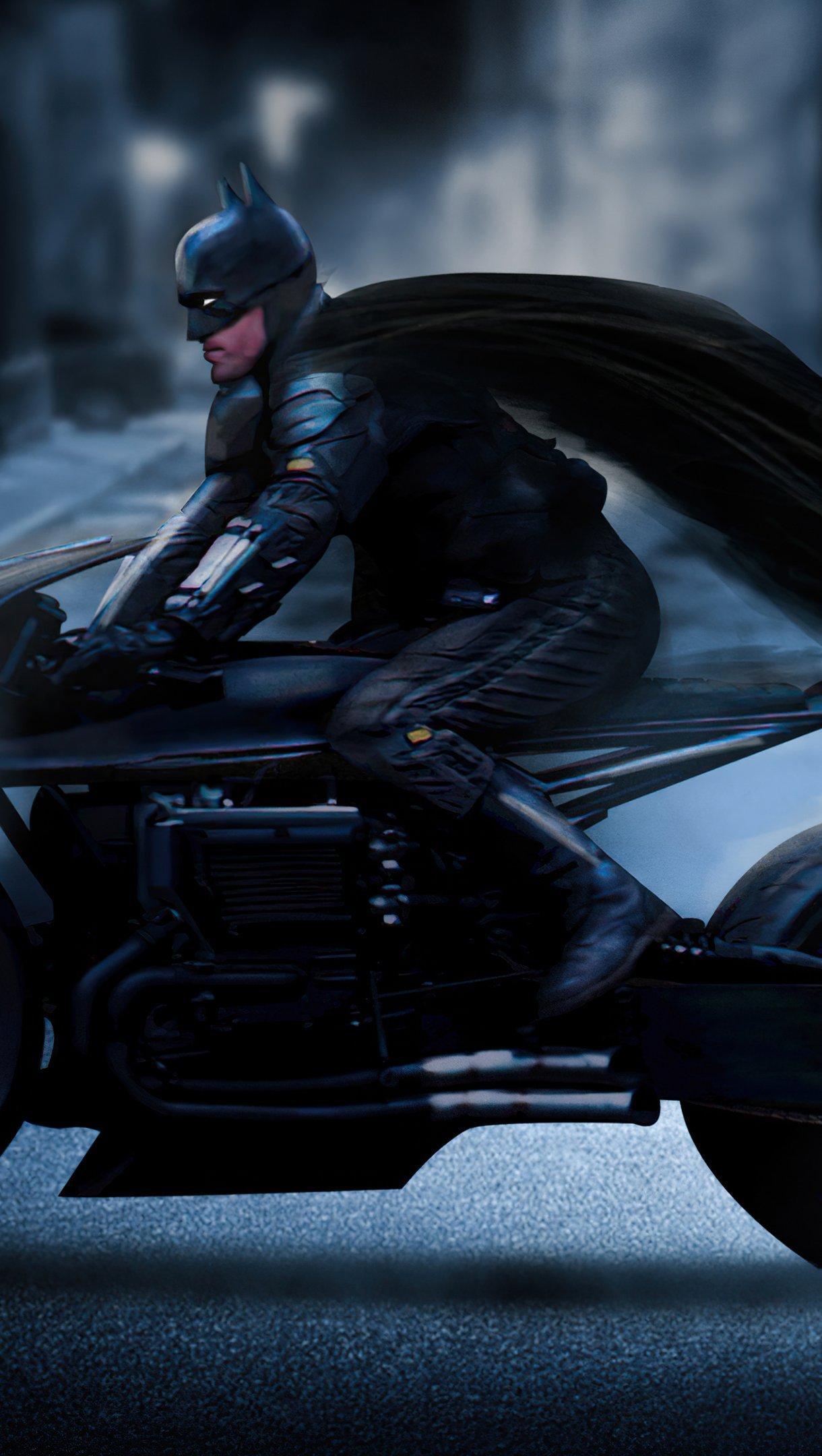 Fondos de pantalla Batman en Batimoto Fanart Vertical