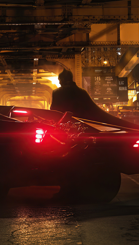 Fondos de pantalla Batman en ciudad gótica Vertical