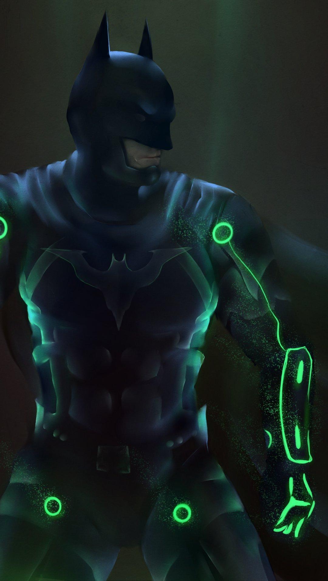 Wallpaper Batman in Injustice 2 Vertical