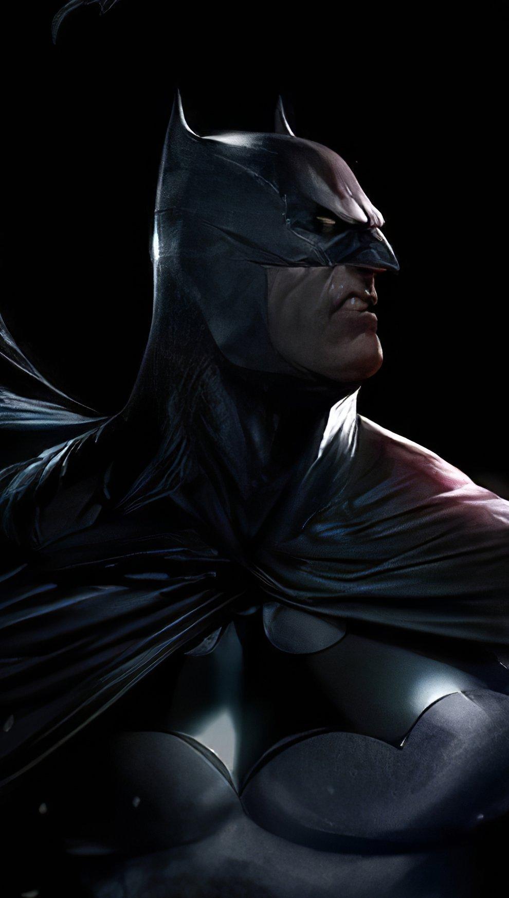Wallpaper Batman in the dark Vertical