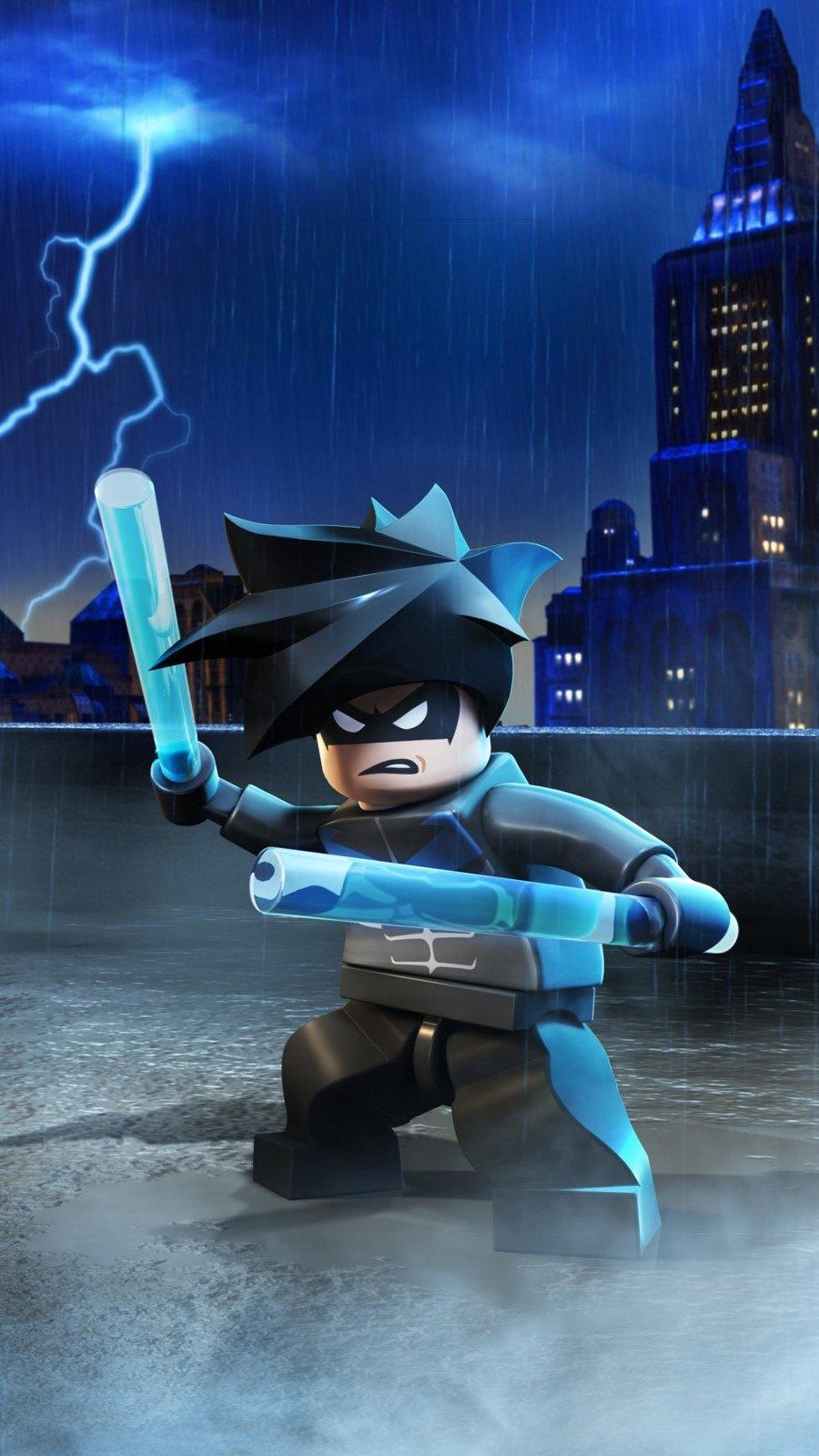 Fondos de pantalla Batman en Lego Vertical