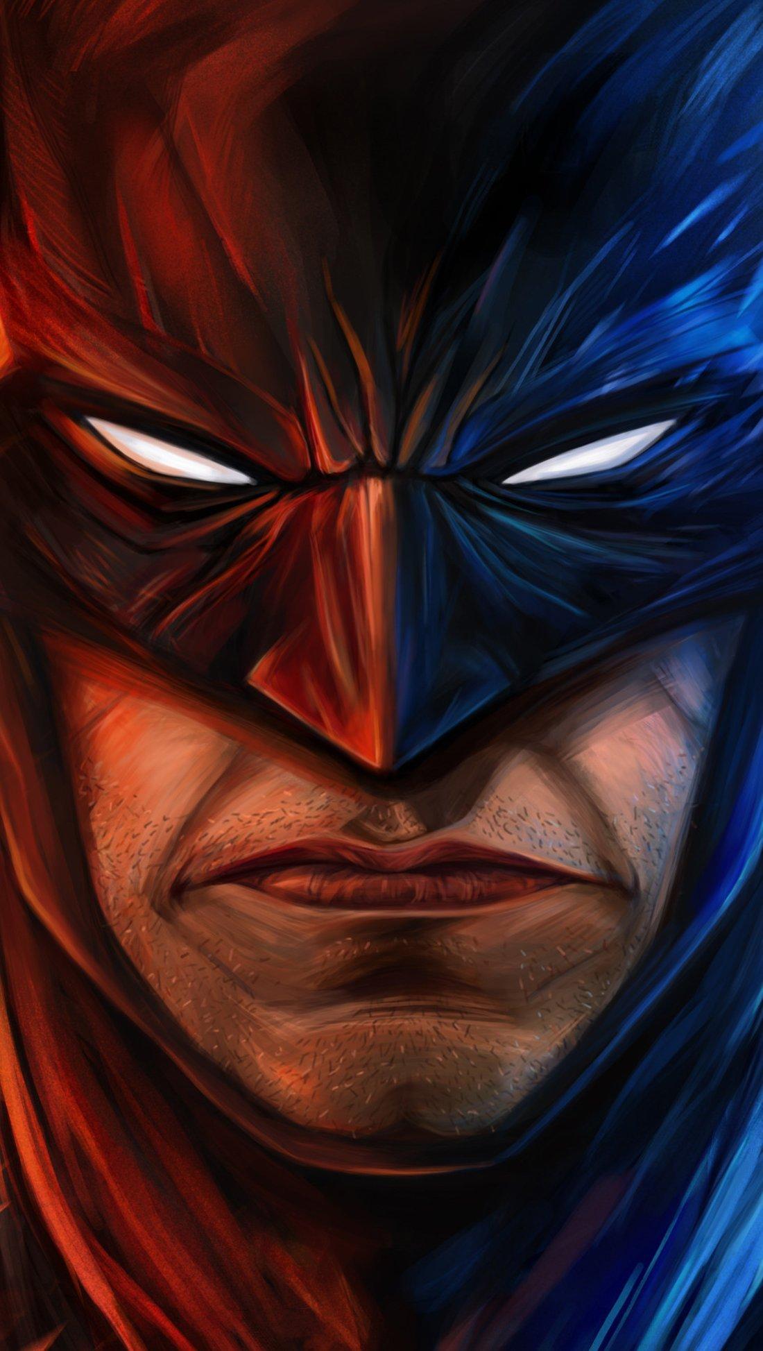 Wallpaper Batman angry Vertical