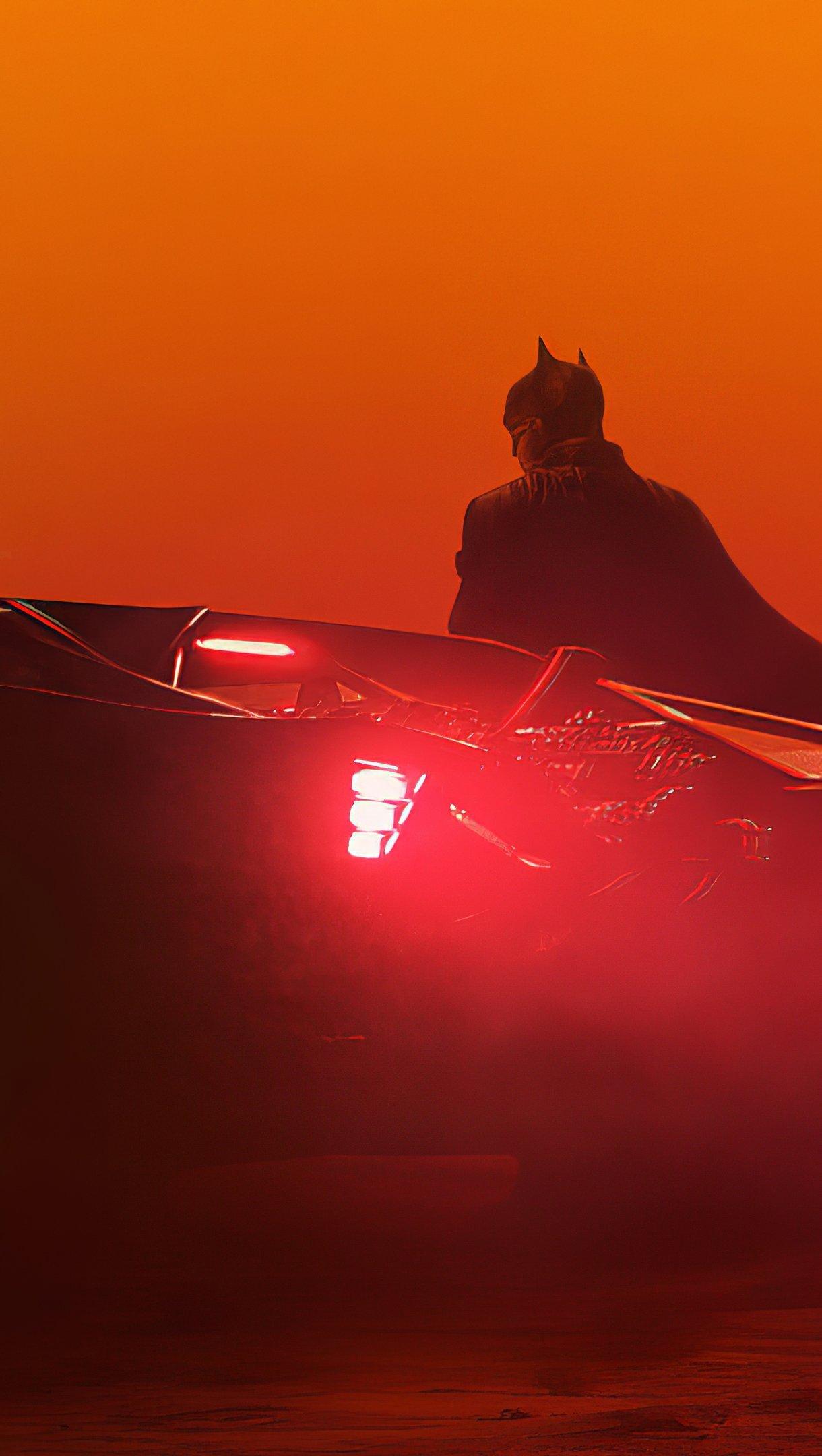 Fondos de pantalla Batman estilo Blade Runner Vertical