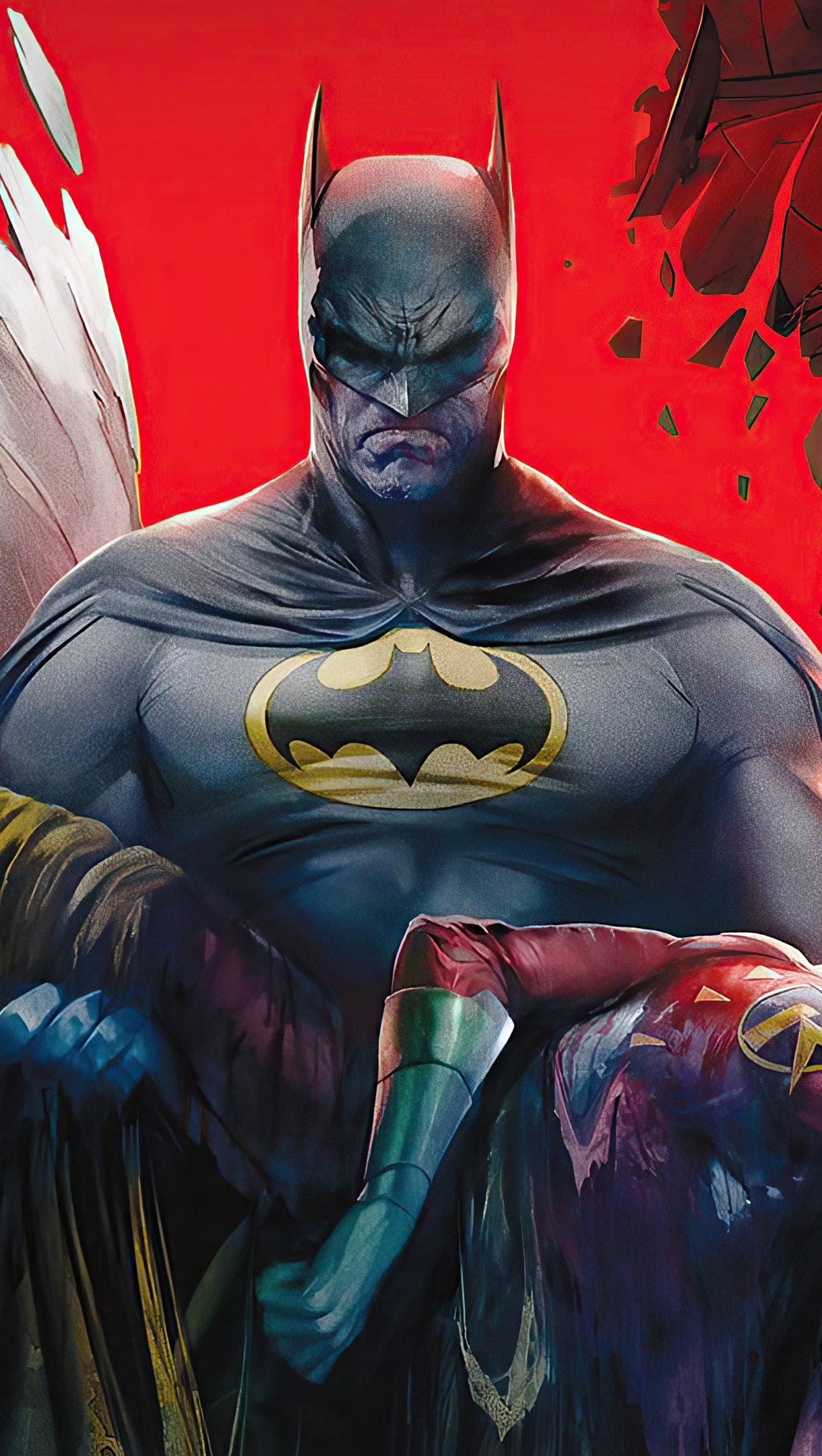Fondos de pantalla Batman: La muerte de la familia Vertical