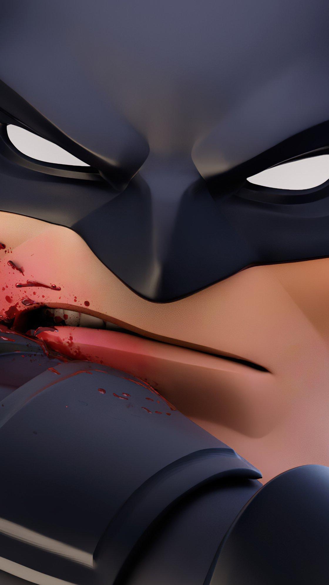 Fondos de pantalla Batman lastimado Vertical