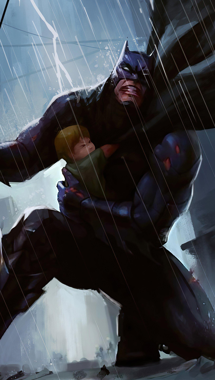 Fondos de pantalla Batman Rescue Vertical