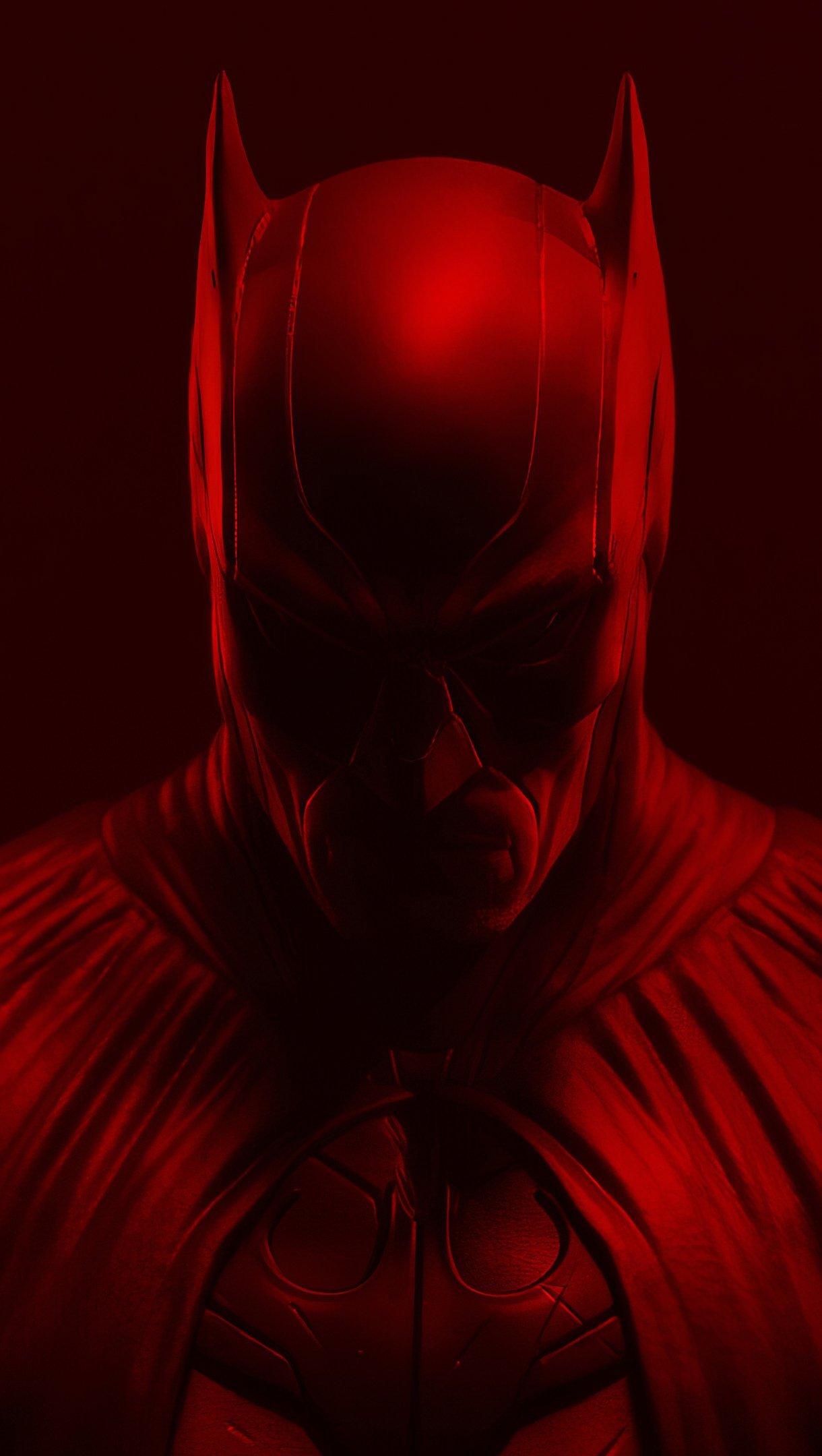 Wallpaper Red Batman Vertical