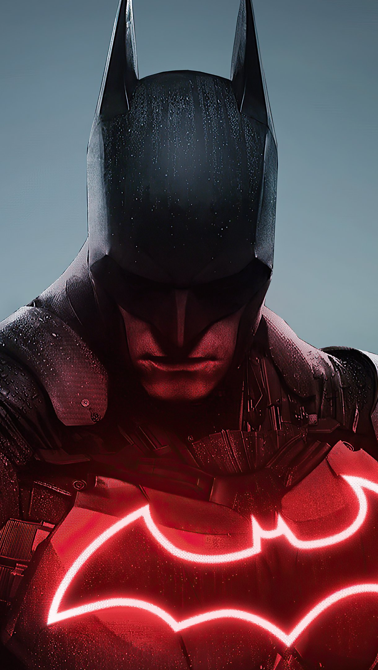Wallpaper Batman red and black Vertical