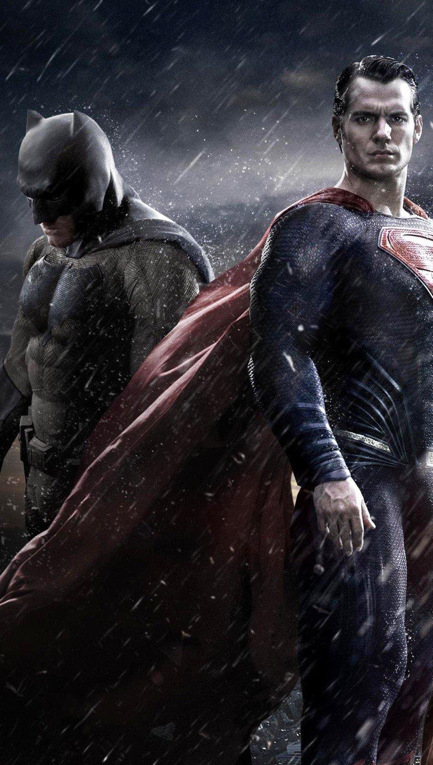 Fondos de pantalla Batman, Superman y la mujer maravilla Vertical