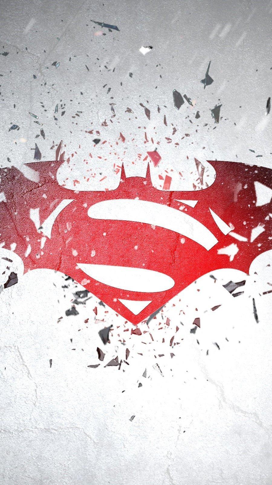 Fondos de pantalla Batman vs superman Vertical