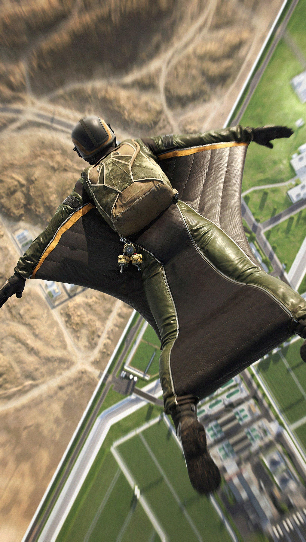 Wallpaper Battlefield 2042 Wingsuit Vertical