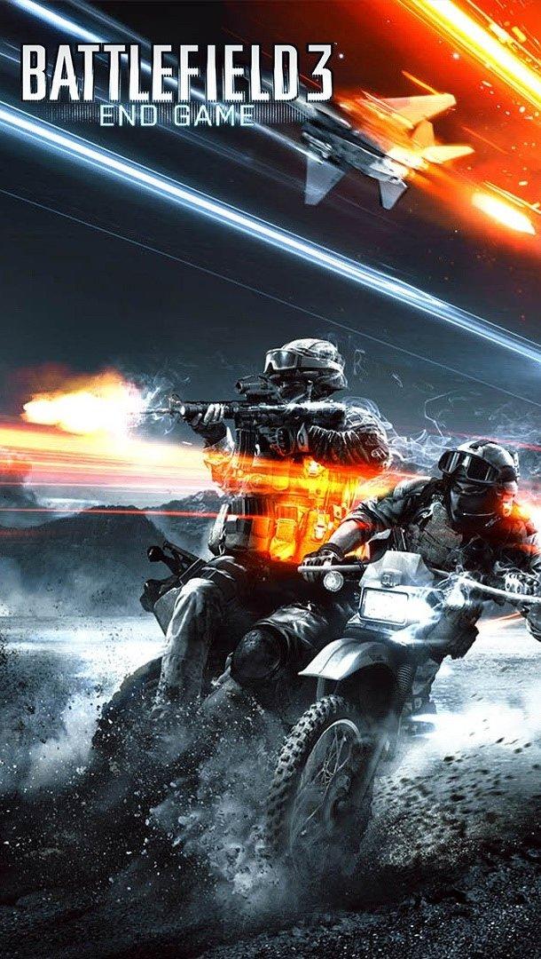 Wallpaper Battlefield 3 End game Vertical