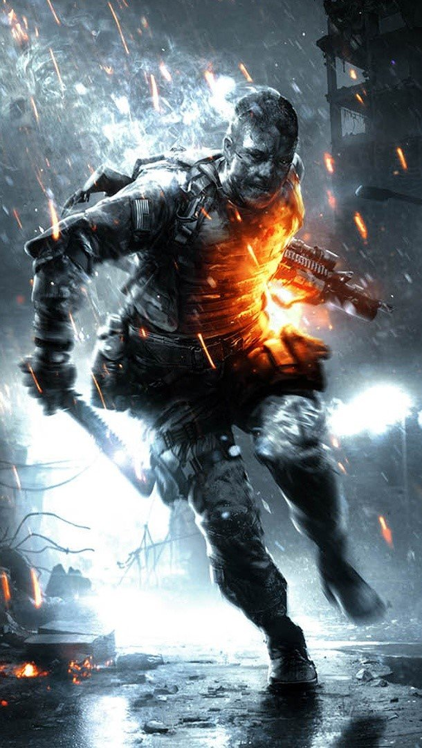 Wallpaper Battlefield 3 Premium Aftermath Vertical