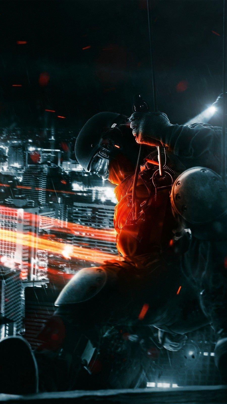 Wallpaper Battlefield 3 Spec Ops Vertical