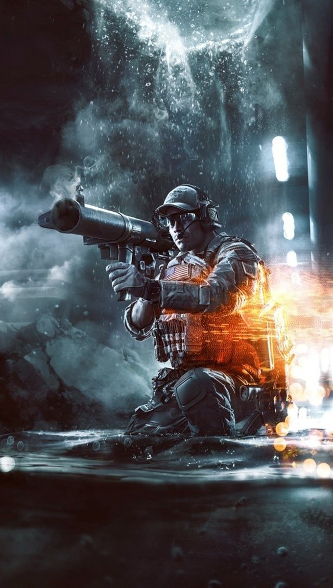 Wallpaper Battlefield 4 Second Assault Vertical
