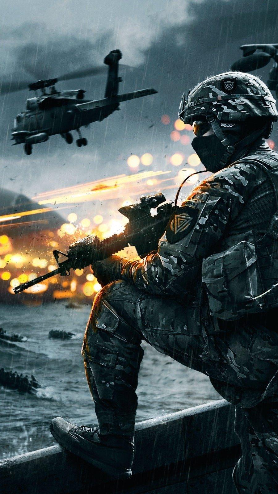 Wallpaper Battlefield 4 Siege of Shanghai Vertical