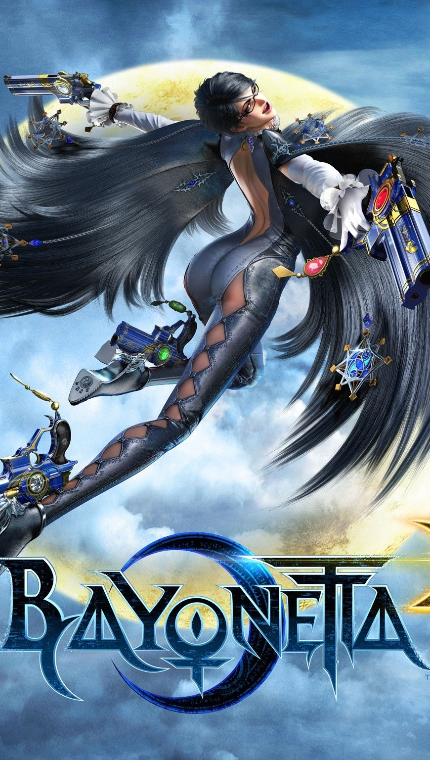 Wallpaper Bayonetta 2 Vertical