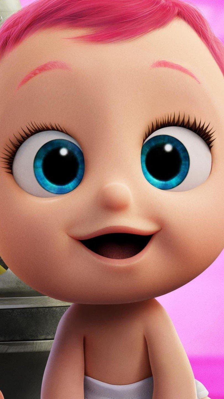 Fondos de pantalla Bebé de película Cigüeñas Vertical