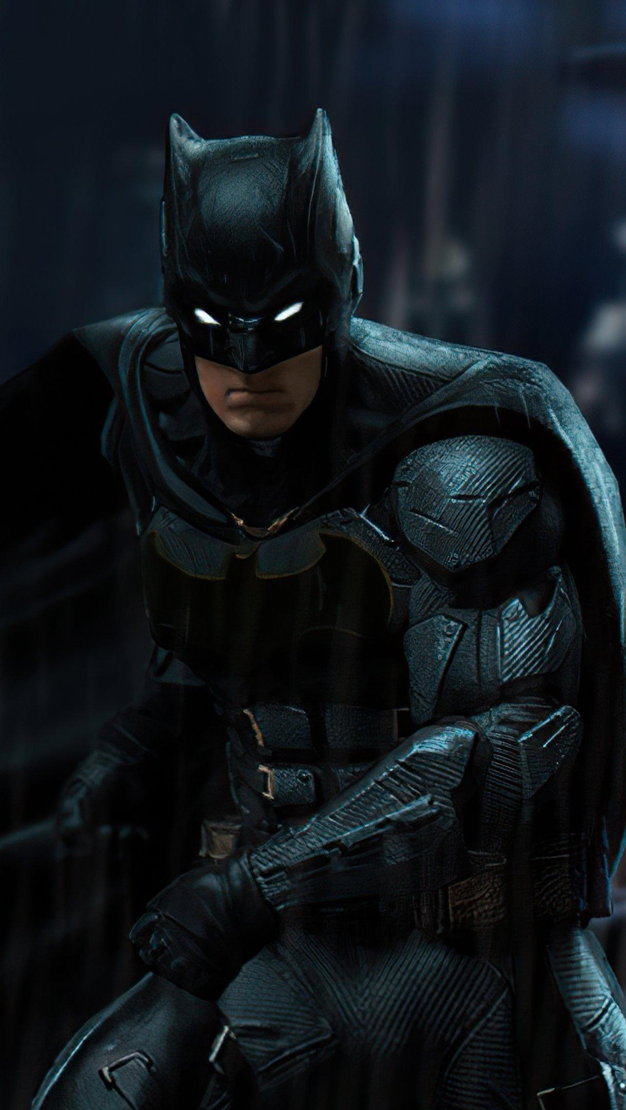 Wallpaper Ben Affleck as Batman Fanart Vertical