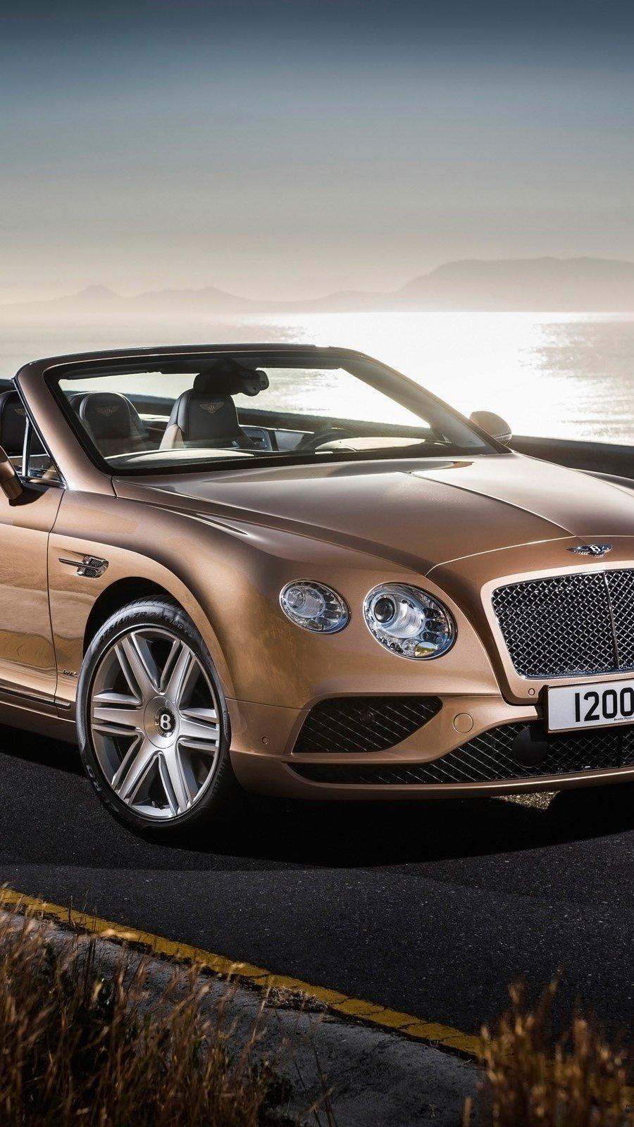 Wallpaper Bentley Continental GT convertible Vertical