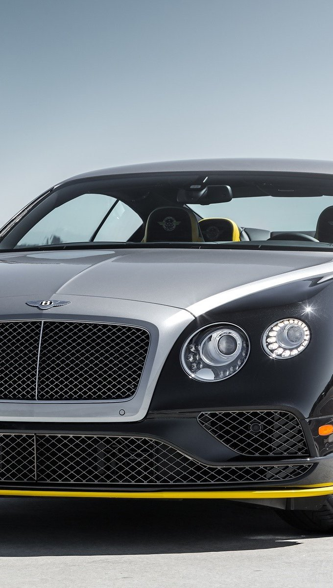 Wallpaper Bentley Continental GT black Vertical