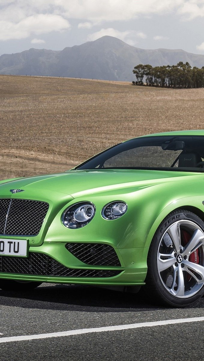 Wallpaper Bentley continental GT4 Vertical