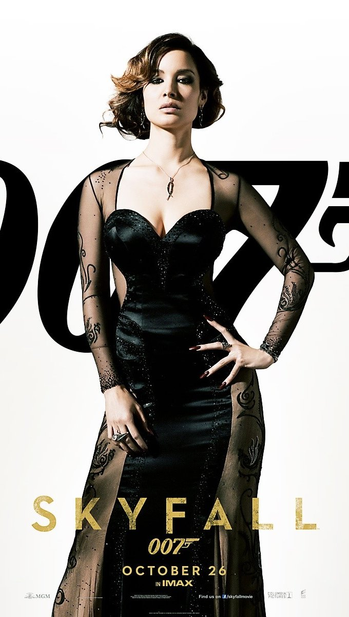 Wallpaper Berenice Marlohe in Skyfall Vertical