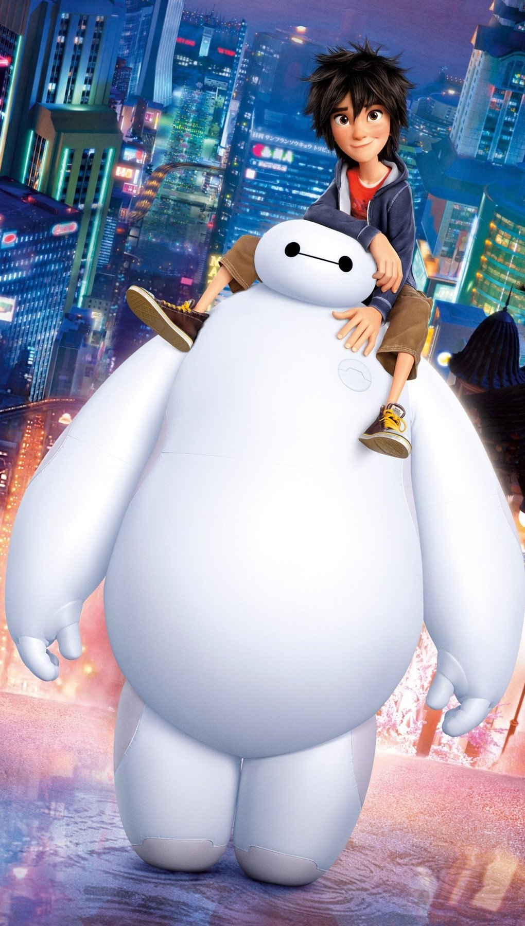 Wallpaper Big Hero 6 Baymax Vertical