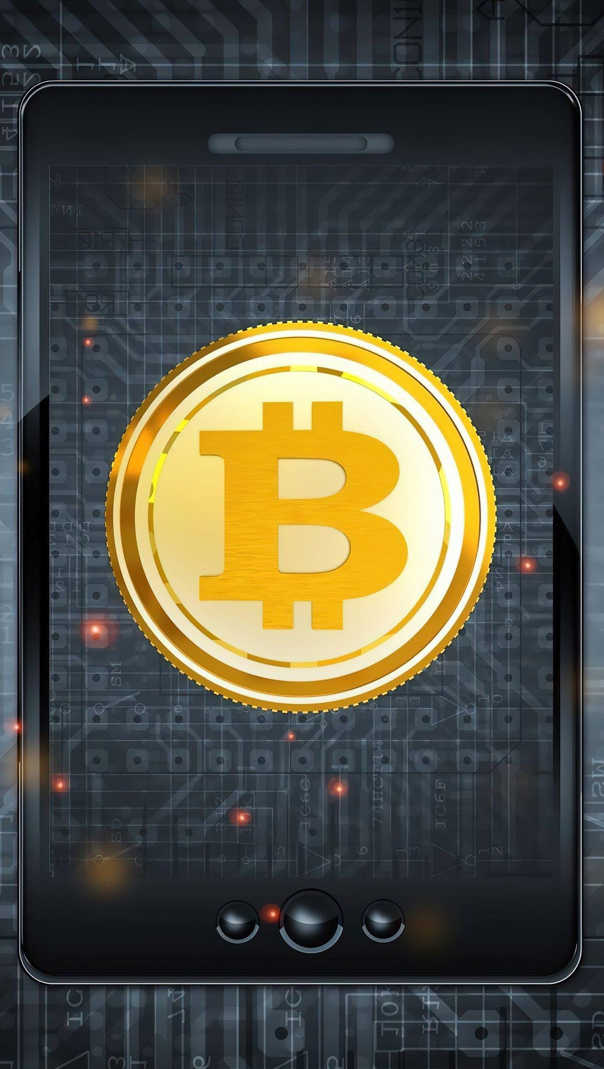 Fondos de pantalla Bitcoin Vertical