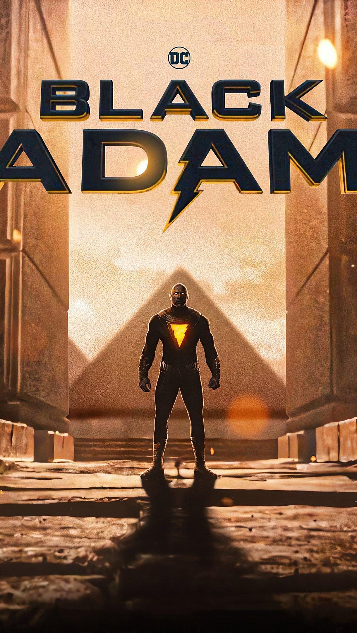 Fondos de pantalla Black Adam 2021 Poster Vertical
