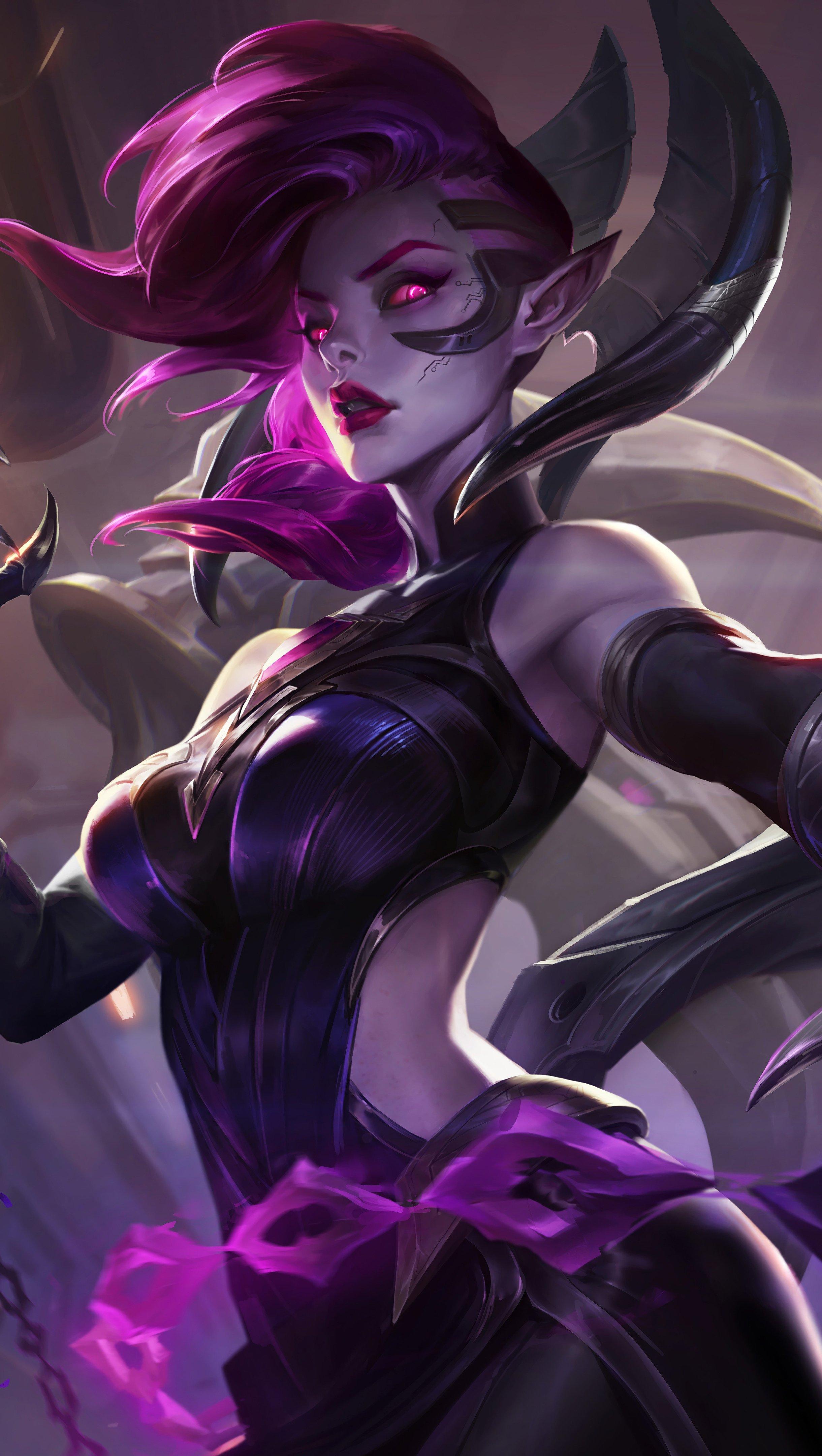 Fondos de pantalla Blade Mistress Morgana League of Legends Vertical