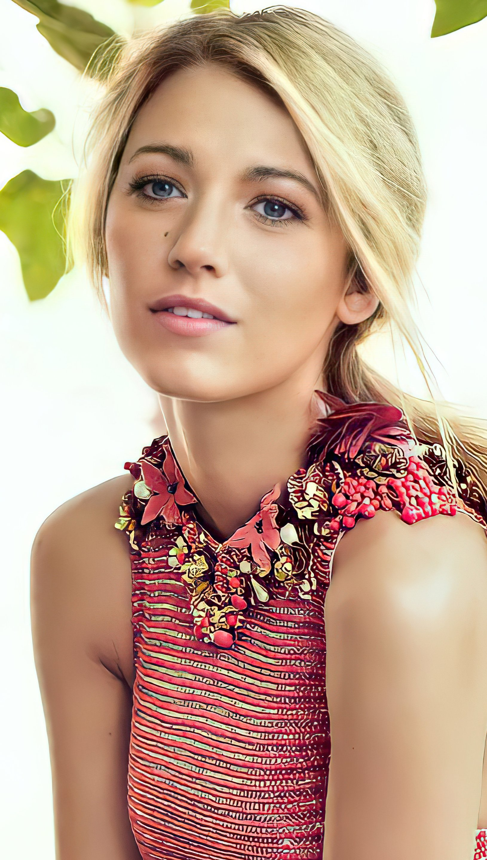Fondos de pantalla Blake Lively para Vogue Vertical