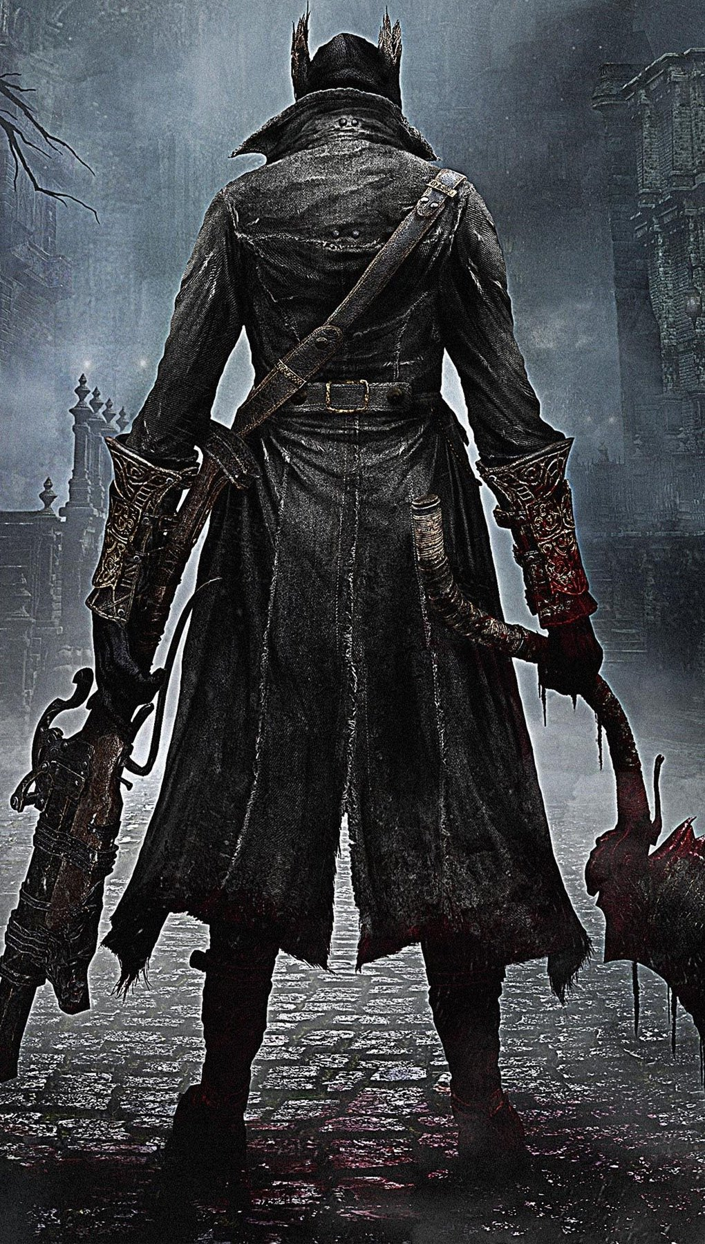 Wallpaper Bloodborne Vertical